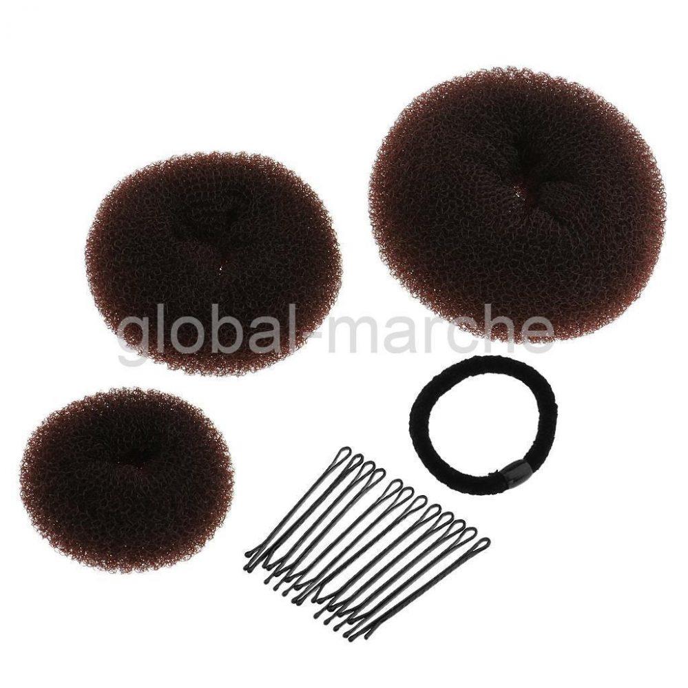 Donut Bun Maker Coiffure Chignon Bague avec Pince pour les Cheveux Chignon  Prix : 2.99  Termine le : 2017-10-21 14:43:32  Vu sur eBay  …