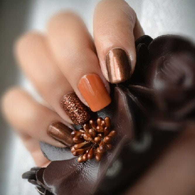 Cute Autumn Nail Designs Youll Want to Try ★ See more: glaminati.com/… Source by gagyan   …