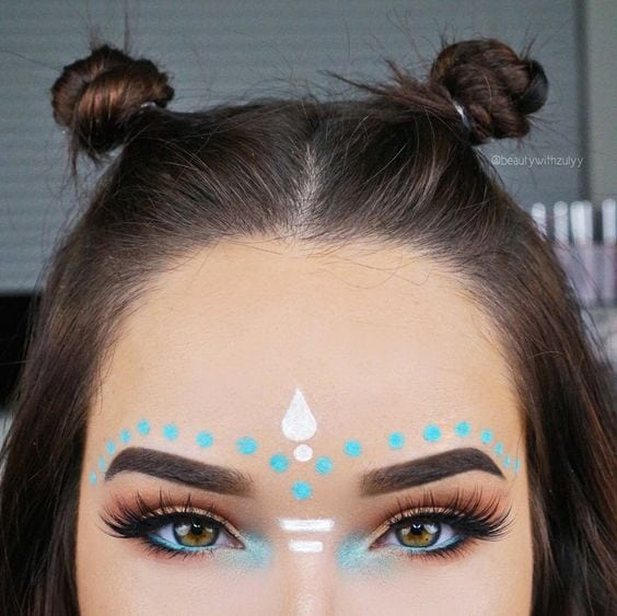 27 Magical Coachella Beauty Look Inspirations
