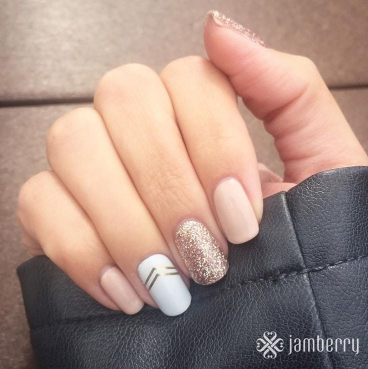 50 Gel Nails Designs That Are All Your Fingertips Need To Steal The Show Source by sietskut   …
