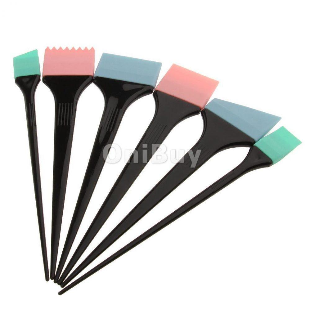6pcs Kit Brosse en Silicone à Colorant Cheveux Coloration Teinture Coiffure  Prix : 6.69  Termine le : 2017-11-24 21:01:13  Vu sur eBay  …