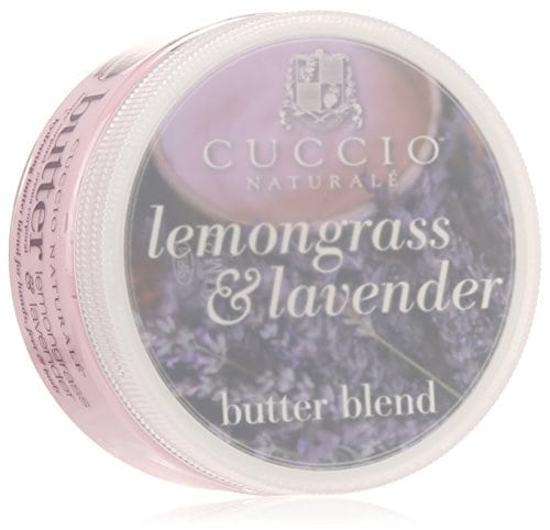 [ad_1]   Acheter maintenant     $5.95 Cuccio natural lemongrass and lavender butter blend hydrating treatment for hand and skin, feet and body leaves skin extremely soft. Lasts five times longer than ordinary lotion. Creamy blend for entire body.Lasts five times…