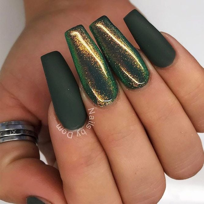 Fresh Green Nails Ideas To Get This Season ★ See more: glaminati.com/… Source by SusanneSays   …