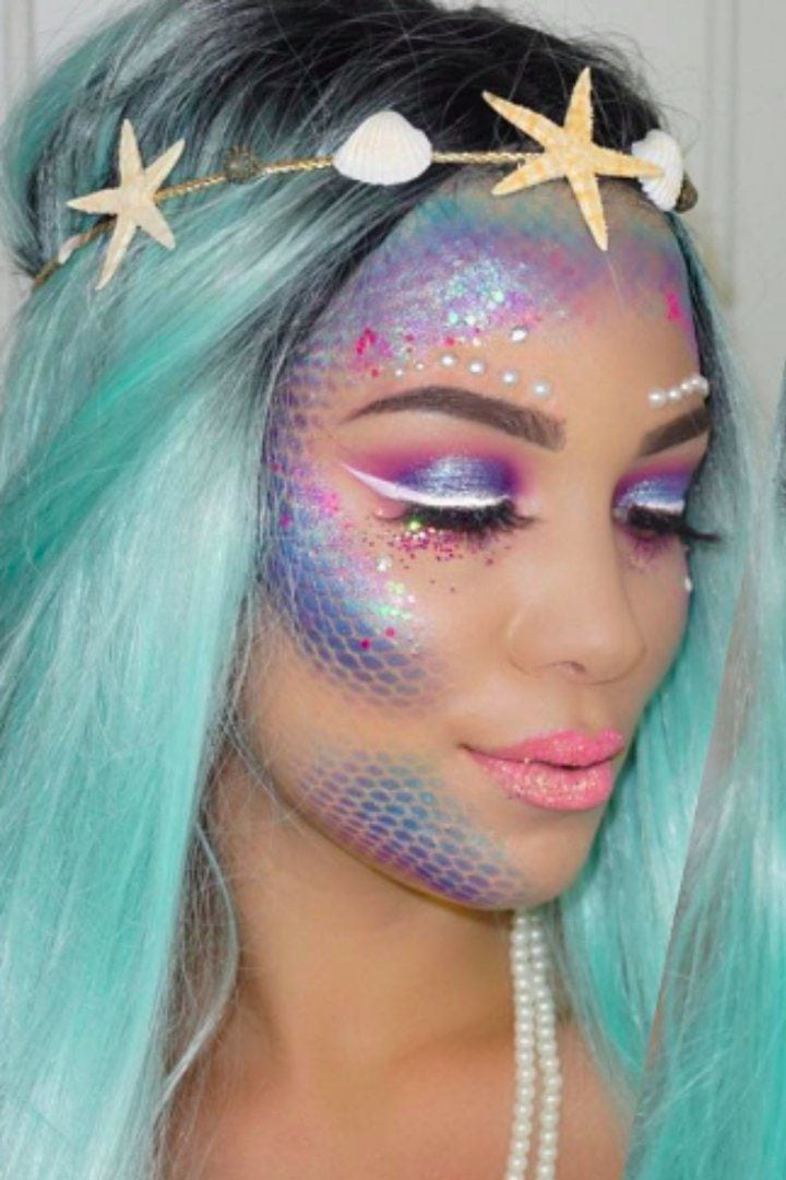 Pin for Later: This Unexpected Item From Your Closet Is the Key to Perfect Mermaid Makeup Source by vivanovaite   …