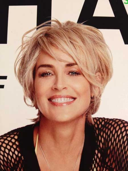 Sharon Stone is being very famous for her signature short hair cut as a famous American actress. Many women keep seeking for a suitable hairstyle during their whole life. A perfect hairstyle can make women look more beautiful and attractive.…