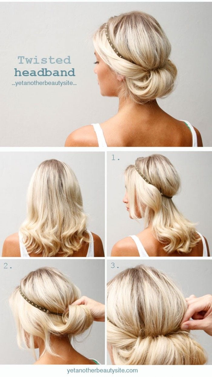 Twisted-headband-bainded-chignon-Mooi-en-simpel-kapsel.1408741318-van-nicoleheij Source by eskesnieuwstrat   …