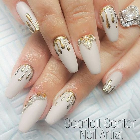 42 Wonderful Nail Art Ideas All Girls Should Try Source by ruit1810   …