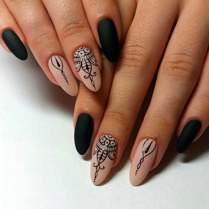awesome 35 Great Ideas for Almond Nails – Manageable and Attractive Source by magenta2626   …