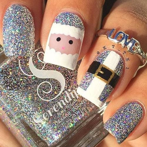 Best Christmas Nails for 2017 – 64 Trending Christmas Nail Designs – Best Nail Art