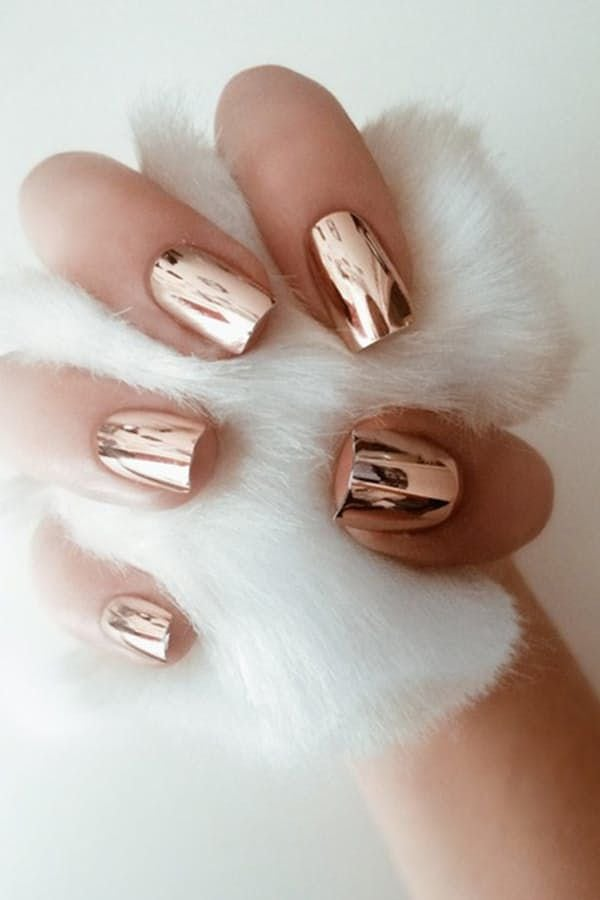 [ad_1]  CHROME NAILS  The future is now, and we've already fallen hard for high-shine metallic nail finishes. Go for rose gold if you're feeling adventurous. Source by parel77 [ad_2]  …