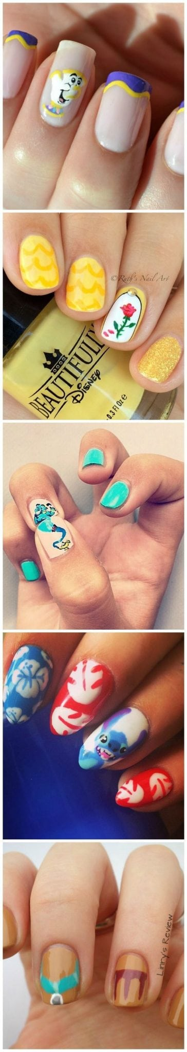 Disney nails – Disney inspired manicures