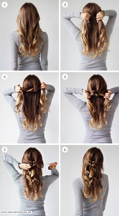 Weekly hairstyle: tie a knot (scheduled via www.tailwindapp.com)