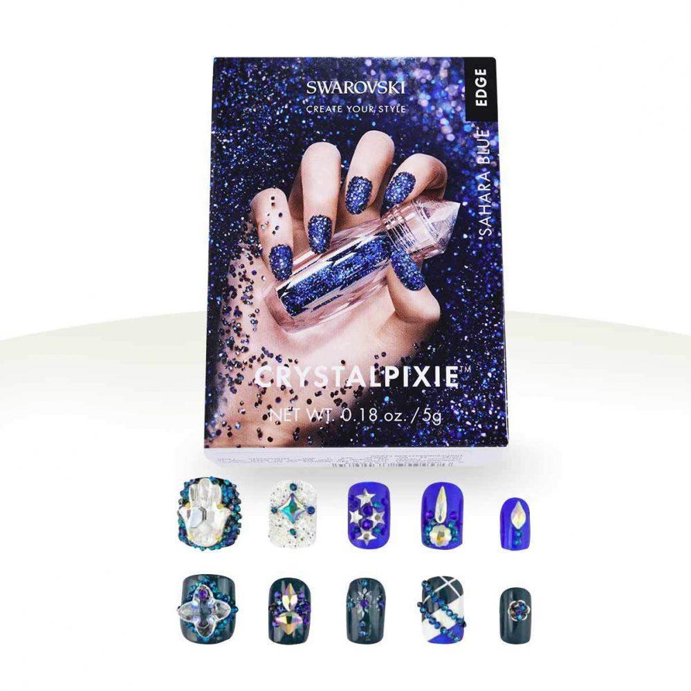 CrystalPixie Edge Swarovski  – Sahara Blue Manucure Faux Ongles Nail Art – Ocibe  Price : 28.00  Ends on :   Voir sur eBay   …