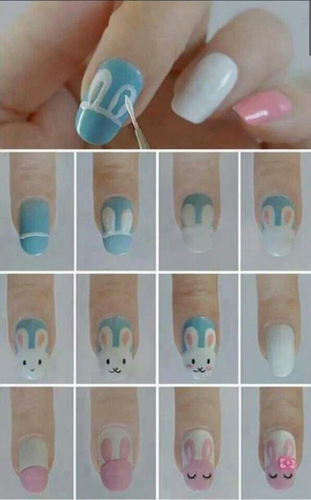 Easter Nail Art for more findings pls visit www.pinterest.com/escherpescarves/ Source by martine76   …