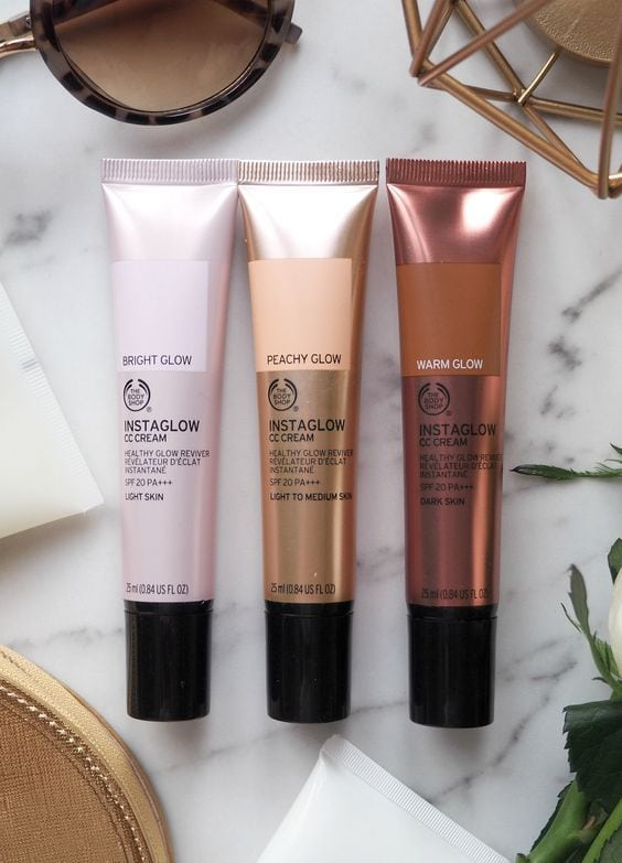 London Beauty Queen: The Body Shop Instaglow CC Creams: Interesting Concept, Questionable Delivery Source by femkeslife   …
