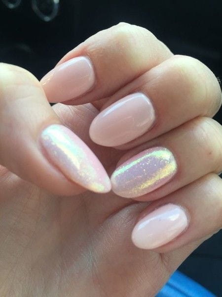 Pearly Pretty Pink – These Pretty Pastel Nails Are Perfect For Spring – Photos