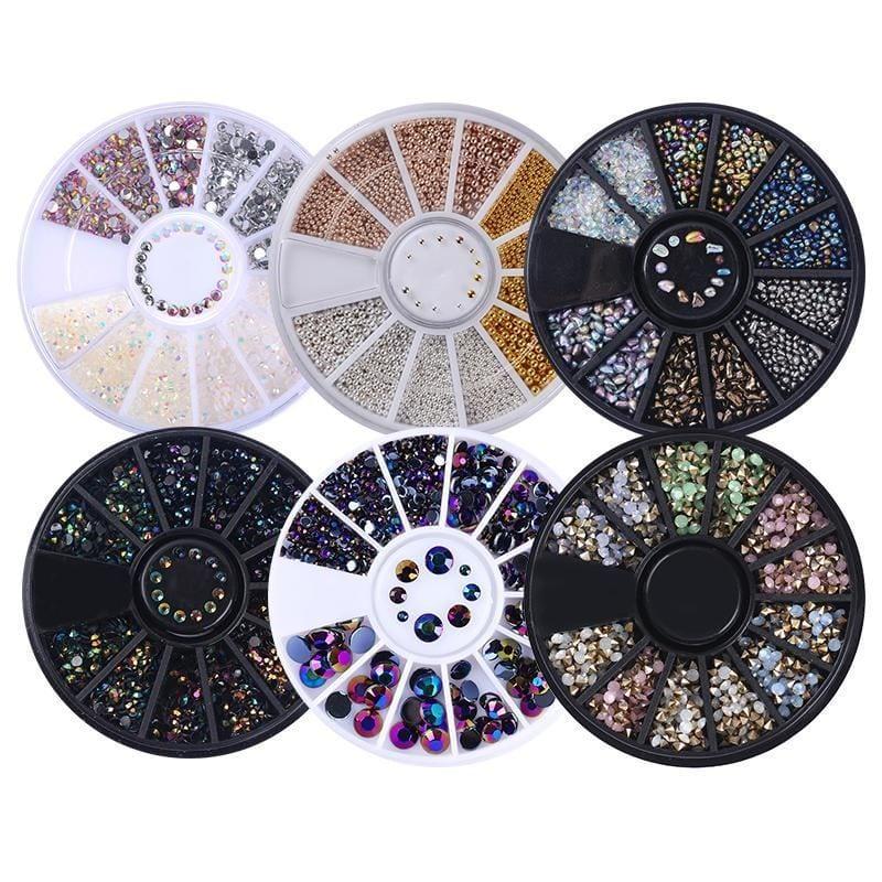 1 boîte 3d Art Ongles Strass Glitters acrylique pour ongles manucure  Price : 3.54  Ends on :   Voir sur eBay   …