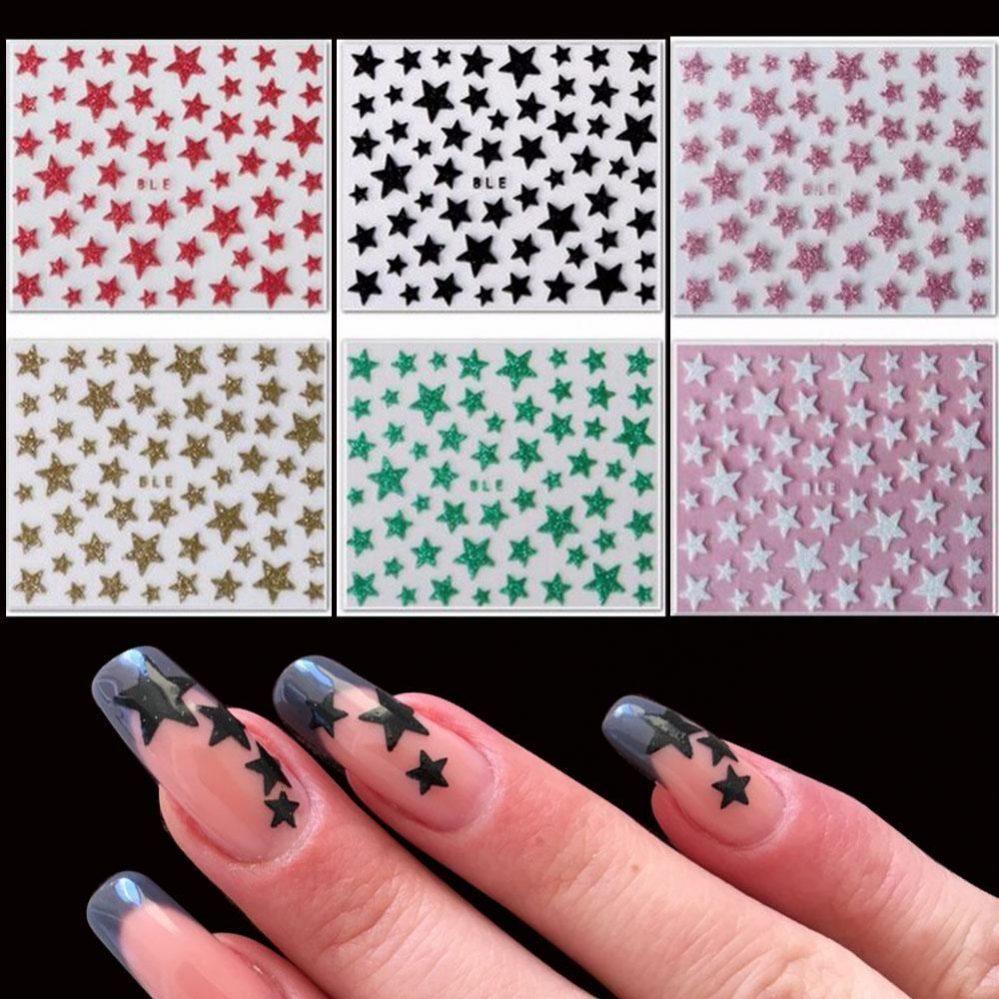 1 feuille femmes art ongles embouts 3D ongle Autocollants Décalques paillett  Price : 2.35  Ends on :   Voir sur eBay   …