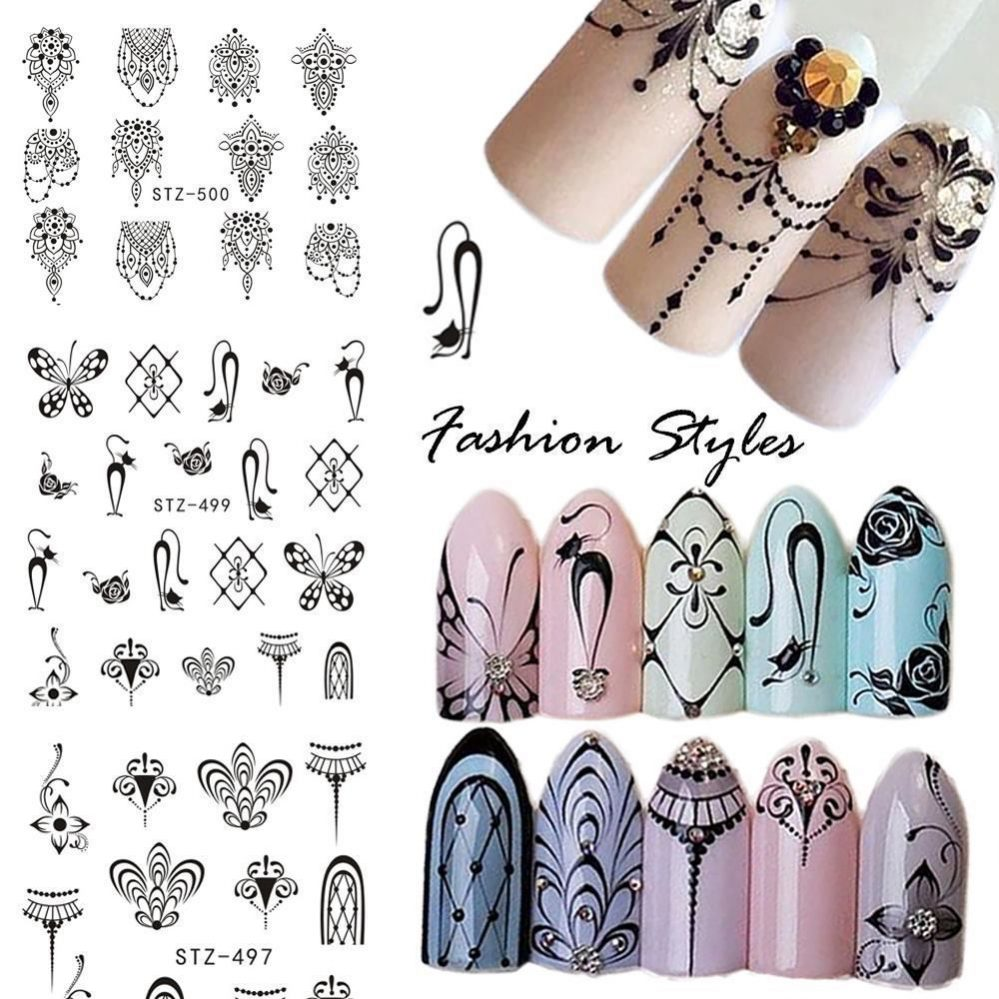 1 pièce AUTOCOLLANT art ongles Bijoux chat pendentif papillon conseils manucure  Price : 1.17  Ends on :   Voir sur eBay   …