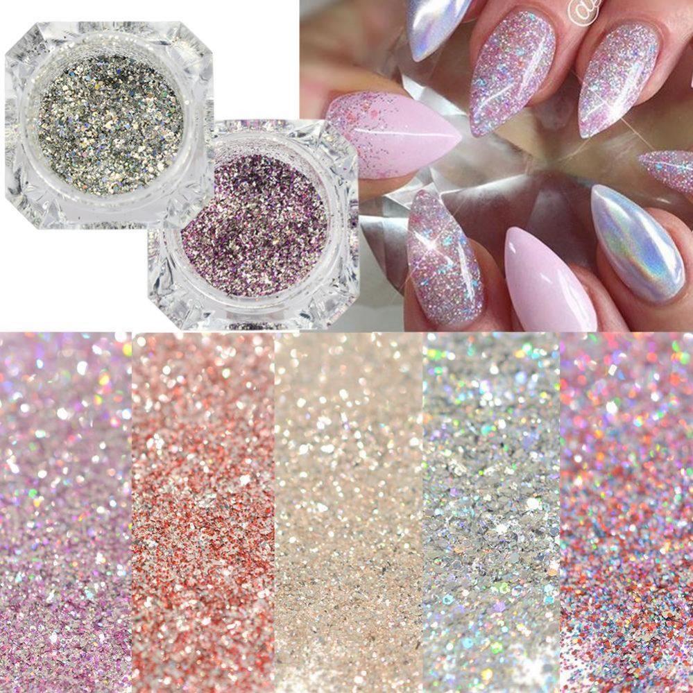 1box platine brillant Ongle Poudre paillette diamant manucure art  Price : 2.35  Ends on :   Voir sur eBay   …