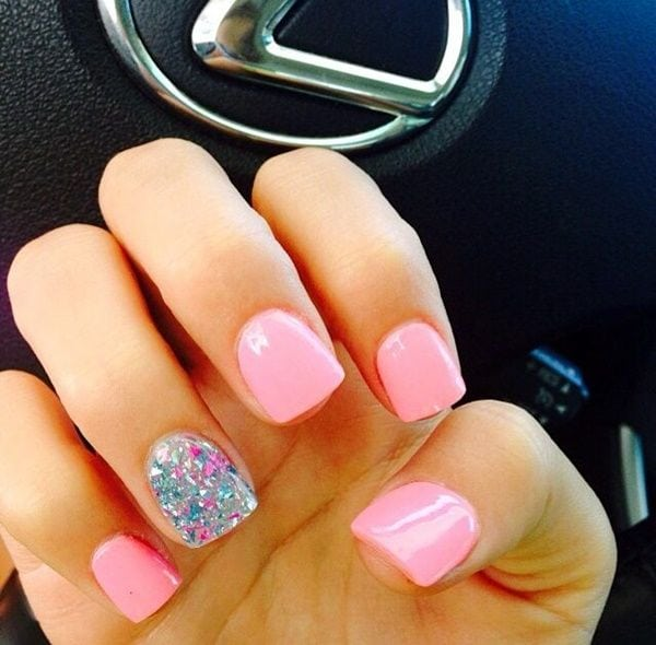45 Glamorous Gel Nails Designs and Ideas to try in 2016 Source by stefjulia1   …