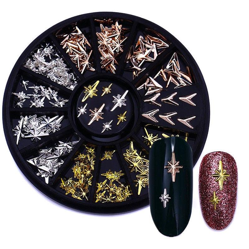 Carrousel Paillette Métal Ongle Décor Tips Stickers Nail Art Manucure DIY Bijoux  Price : 1.28  Ends on :   Voir sur eBay   …