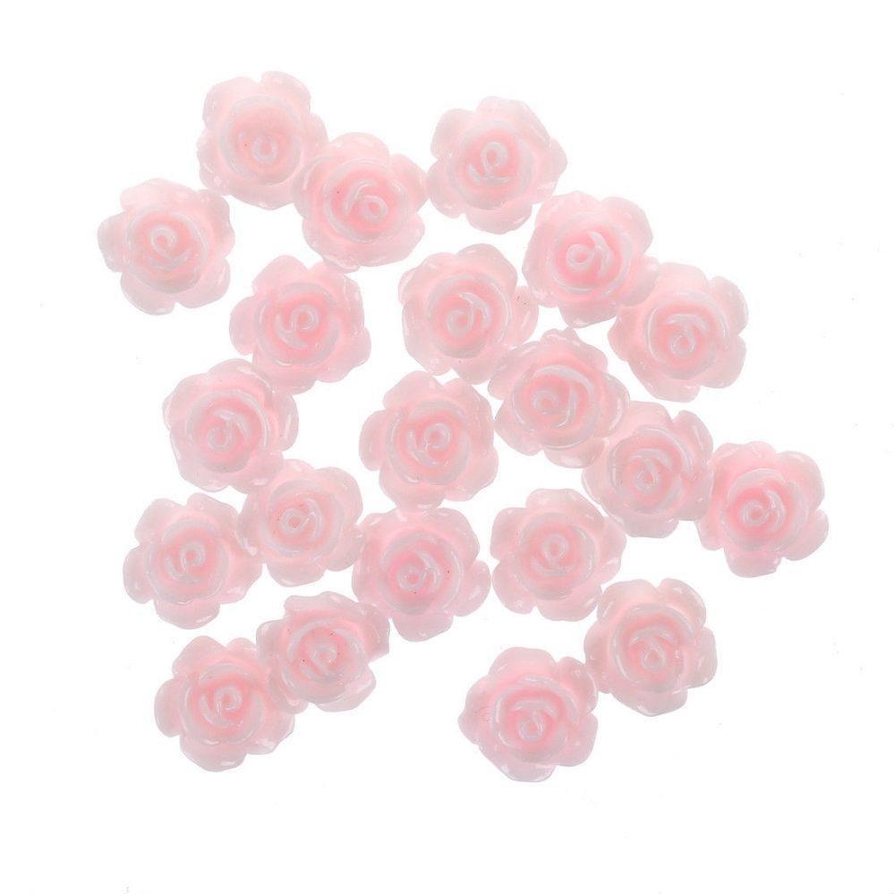 HU 20 x Faux rose 3D/ Decoration de cosmetique d'ongles  Price : 1.00  Ends on :   Voir sur eBay   …