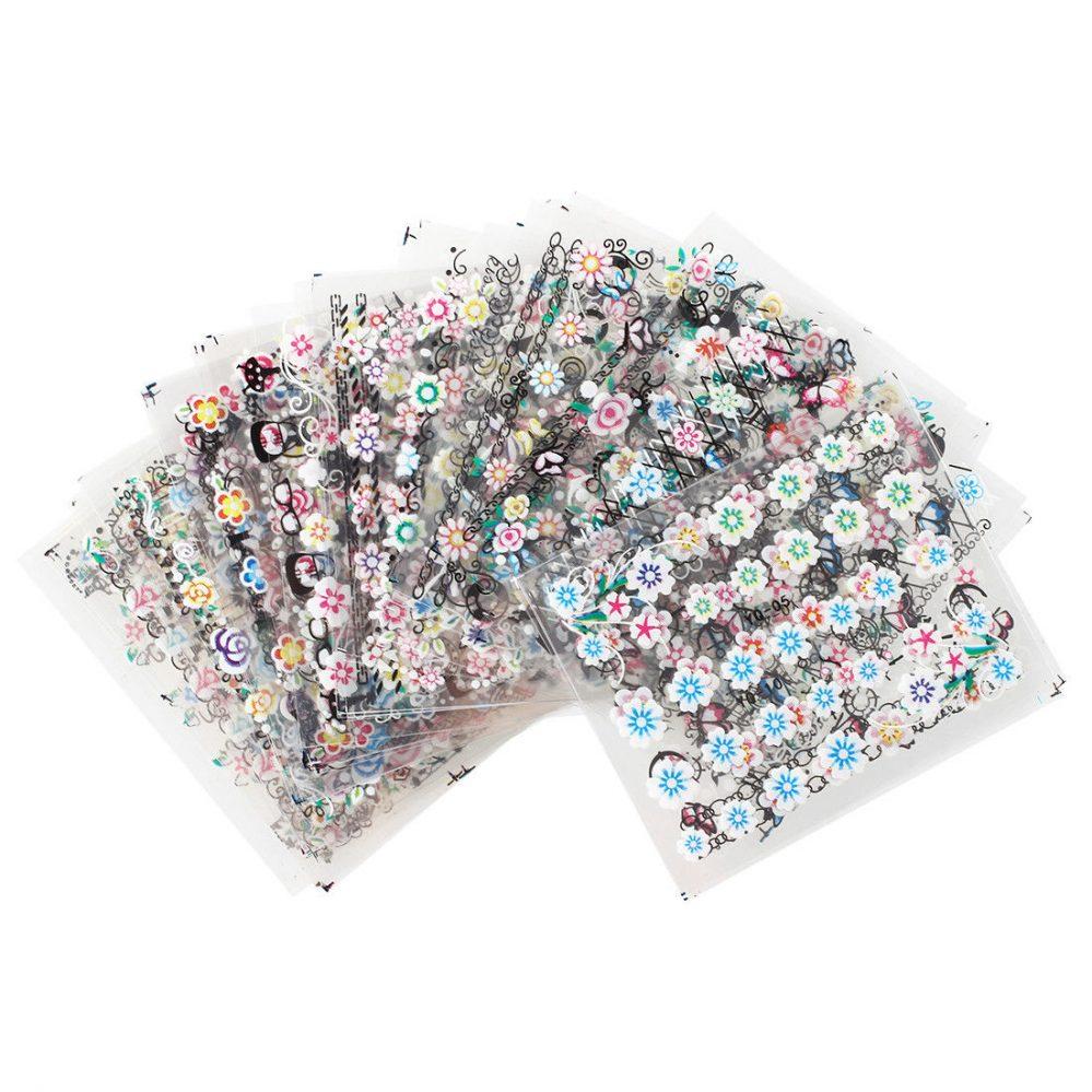 HU 50 pieces Decoration d'ongles Nail art pro Assortiment  Price : 1.89  Ends on :   Voir sur eBay   …