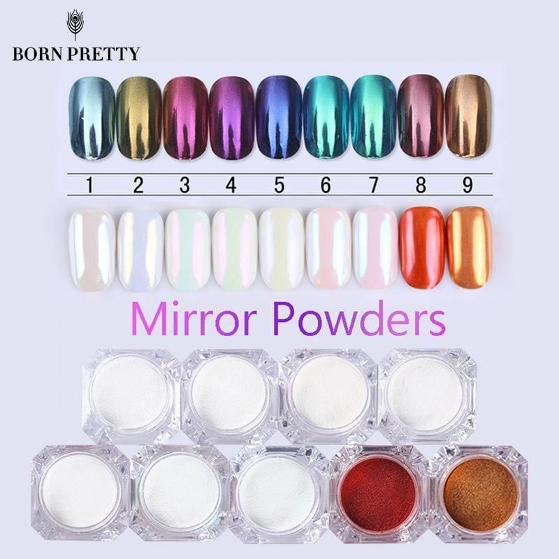 Miroir Ongle Poudre Paillette 1G Poussière Manucure art CHROME accessoire  Price : 3.54  Ends on :   Voir sur eBay   …