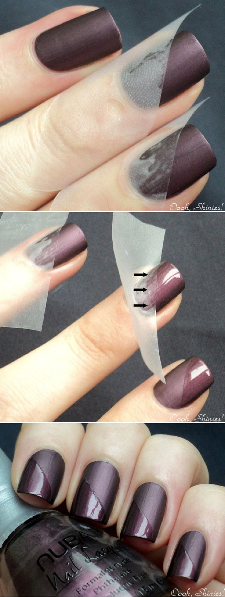 Taped Mani Tutorial