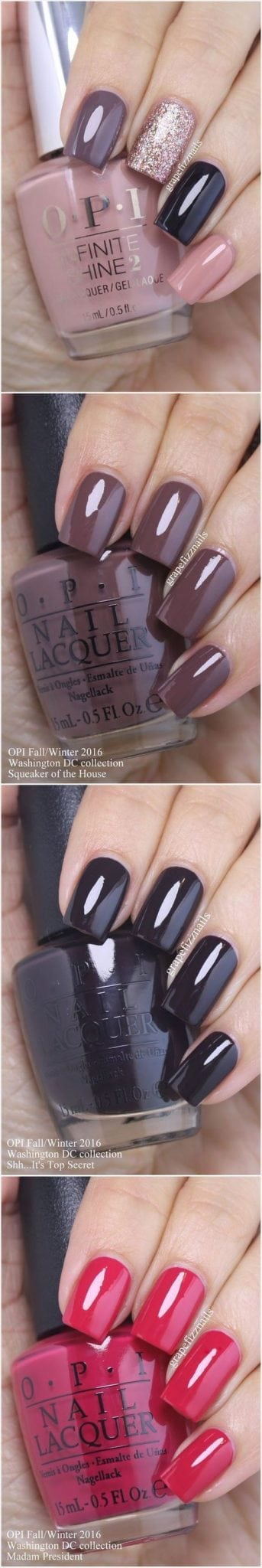10 Easy Nail Designs You Can Do At Home Source by herebi   …