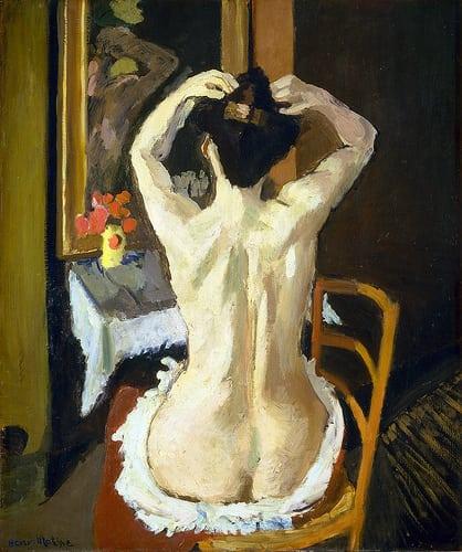 1901. Oil on canvas. 95,2 x 80,1 cm. National Gallery of Art, Washington. 1963.10.165.  Posté par lluisribesmateu1969  sur 2014-03-03 21:41:39      Tagged:  , Matisse , Nude , Washington, DC , National…