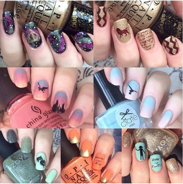 21 Harry Potter Nail Art Designs That Will Leave You Spellbound  – Seventeen.com Source by agterkeurs01   …