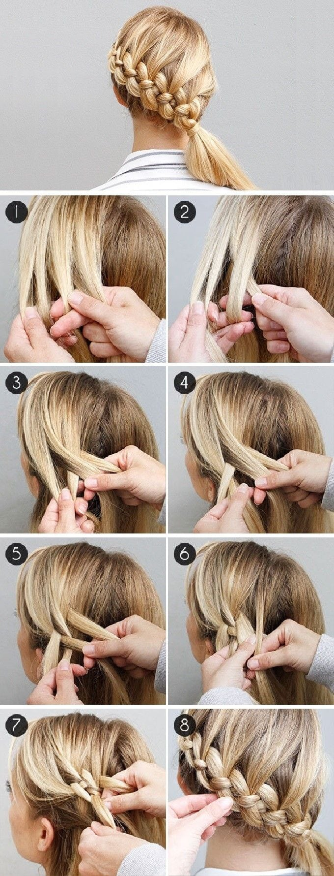 A step-by-step guide to 4 strand Dutch braids by Divine Caroline — 'The Four-Strand Braid Made Easy-ish' Source by ydershome   …