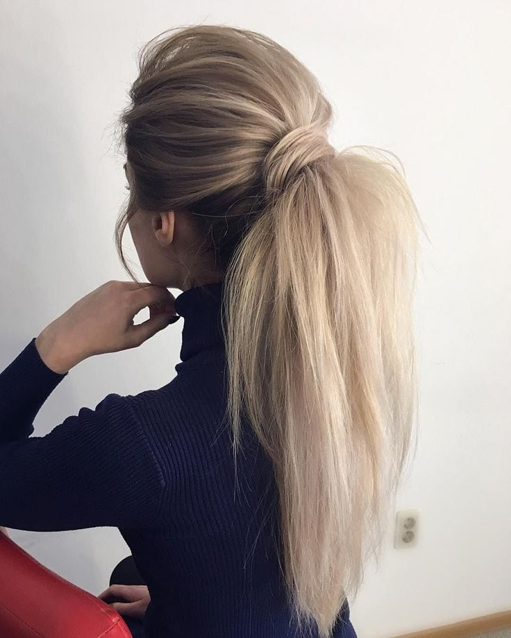Gorgeous Ponytail Hairstyle Ideas That Will Leave You In FAB Source by rosaliegoudriaa   …