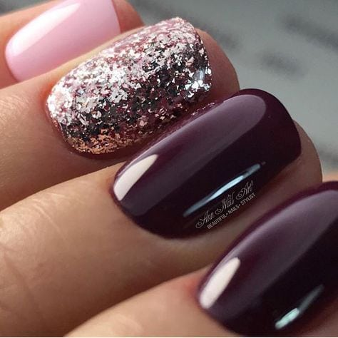 just love these nails Source by saifffff   …