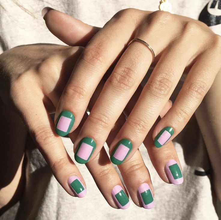 17 (Shamrock-Free) St. Patrick's Day Nail Designs Source by joycee89   …