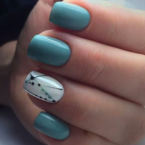 31 TRENDY Nails That Will Interest You Right Now! – Fav Nail Art Source by VERARISAFARI   …
