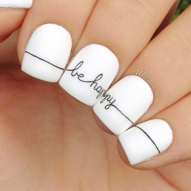Be happy with your nail designs Source by woainiwsz   …