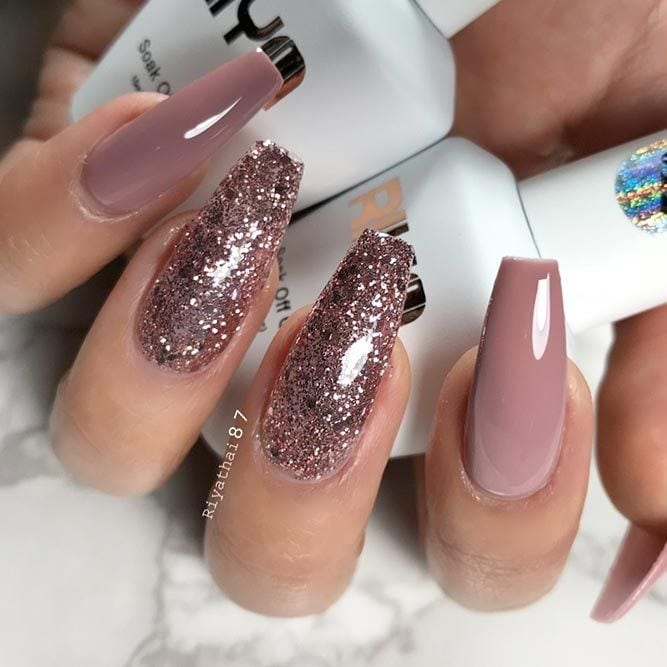 Trendy Long acrylic Nails Art 2018 Advertisement Advertisement