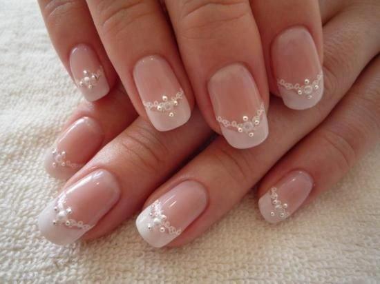 Wauw! Inspiratie: hele mooie en chique nagels voor een huwelijk -Cosmopolitan.nl Source by debs2309   …