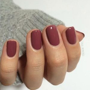 ongles ronds                                      …
