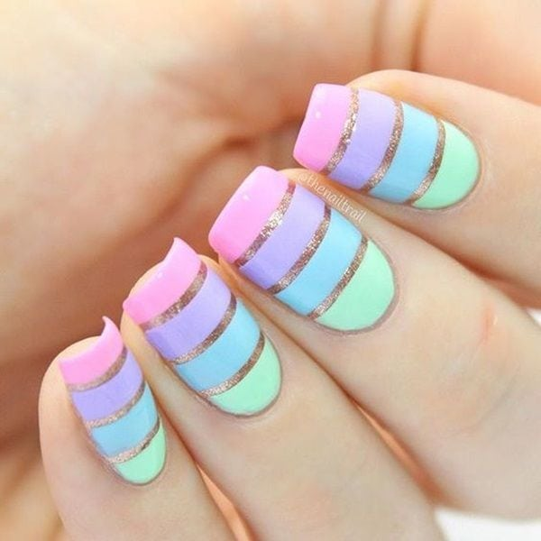 shares Facebook Twitter Google+ Pinterest StumbleUponAren't you totally bored of that single nail color on your hands and toes? We know you are! You thought we Source by saskiaversluis   …