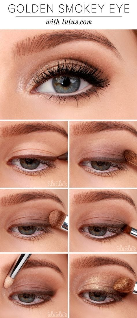 12 Awesome Smokey Eyes Tutorials {The Weekly Round Up} – Titicrafty by Camila Source by liavuik0082   …