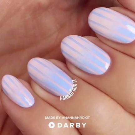 DIY Cotton Candy Nail Stamp Tutorial #darbysmart #nailart #nailstyle #manicure #naildiy #nailtutorial #naildesign #nailpolish Source by jcderooij   …