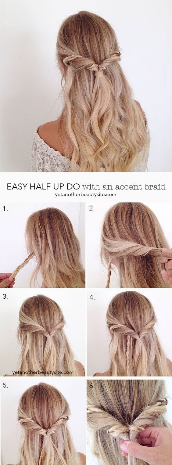 Ever feel like you want to look nice for class but your hair is just not agreeing with you? Check out these step by step hairstyles to see how easy it really can be! (Curly hair girl tested; curly hair…