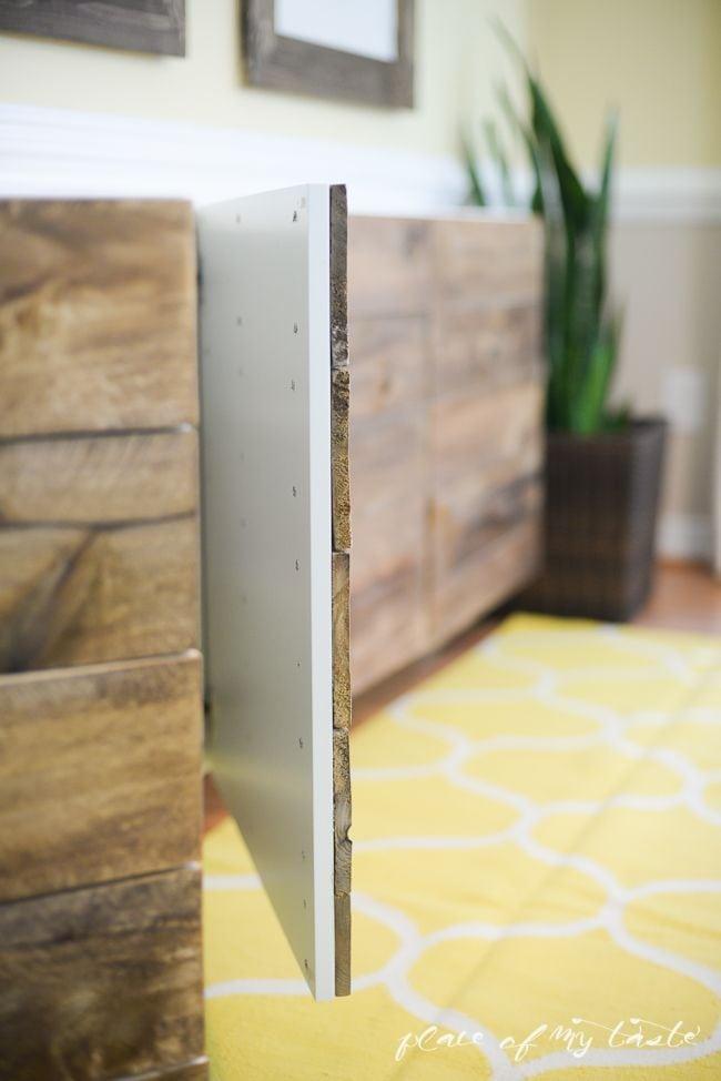 Ikea Hack Pimp Een Simpele Kast Met Steigerhout Roomed