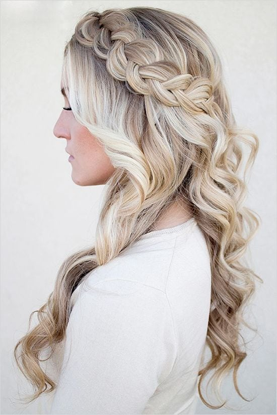 15 Gorgeous Bridal Hairstyles from Pinterest | Daily Makeover: Source by giglivisagie   …