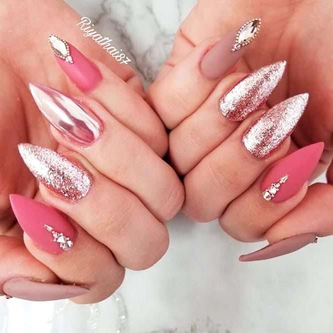 Fab Ideas for Stiletto Nails Designs: Create Your Look ★ See more: naildesignsjourna… #nails
