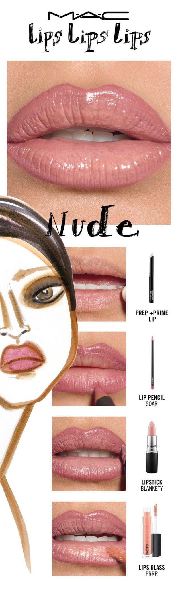 Go in the buff with the perfectly overdrawn look of The Instagram Nude! We've got nude lip ideas for every skin tone. Try a lip trend, then make it your own! Your choice. Your creation. Your trend.  Created by…